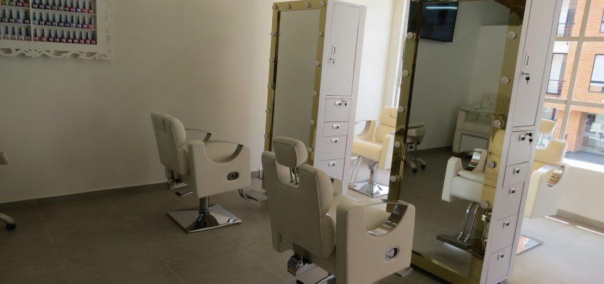 muebles para salón de belleza en Cartagena